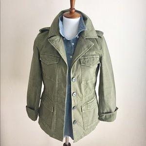 Madewell Utility Jacket | Olive Green | Sz XS